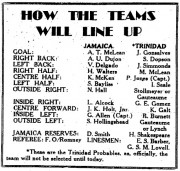 How The Teams Will Line Up