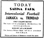 Today Sabina Park