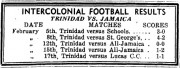 Intercolonial Football Results