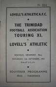 Trinidad FA v. Lovell's Athletic