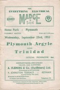 Plymouth Argyle vs Trinidad