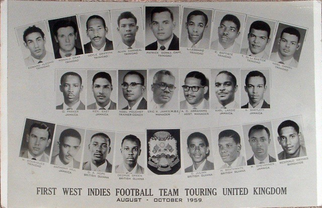 West Indies Football Team Postcard
