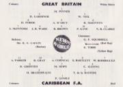 Great Britain v. Caribbean F.A.
