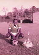 Aldwin Ferguson with FA Trophy