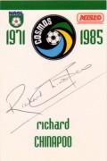 Richard Chinapoo autograph, Cosmos