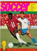 Soccer International Magazine Cover