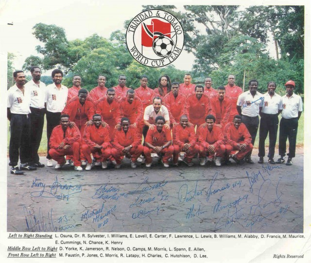 T&T World Cup Team