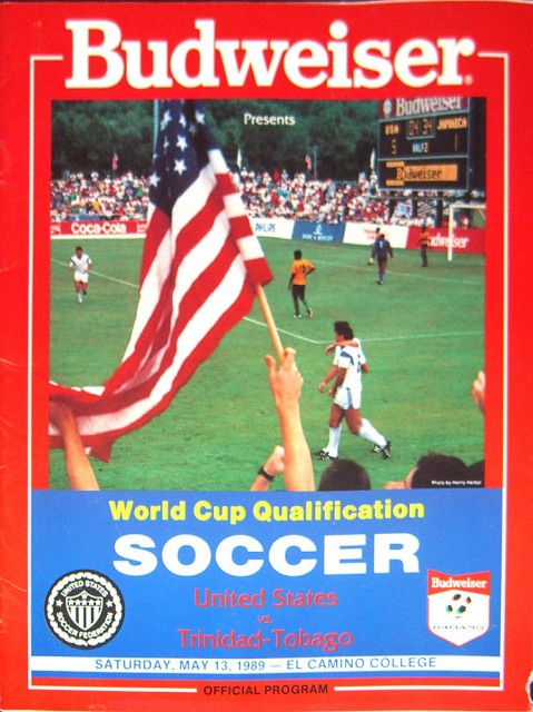 USA vs Trinidad & Tobago program