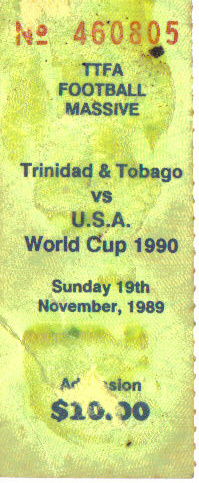 T&T vs USA ticket stub