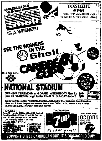 Shell Caribbean Cup Tonight