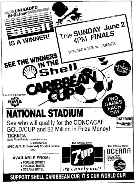 Shell Caribbean Cup Finals