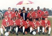 Shell Cup Champions with Pele