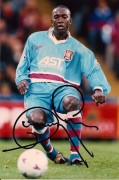 Dwight Yorke press photo