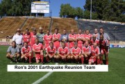 Earthquakes Reunion 2001