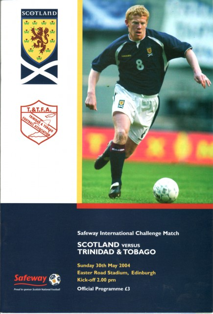 Scotland vs. Trinidad & Tobago