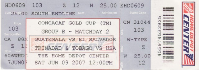Trinidad & Tobago vs USA